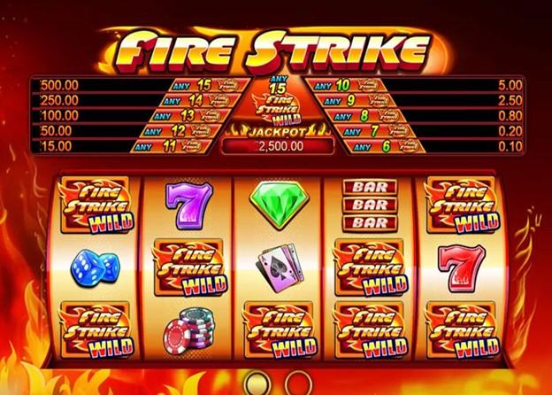 สล็อต Fire Strike