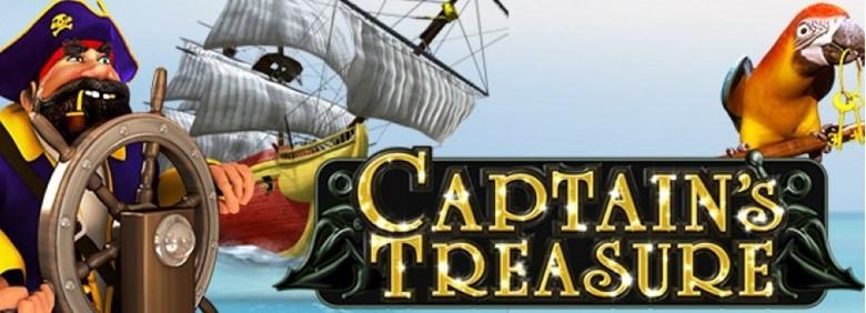 สลอต เกมโจรสลัดล่าสมบัติ captain's treasure สล็อตฟรีสปิน WY88BETS