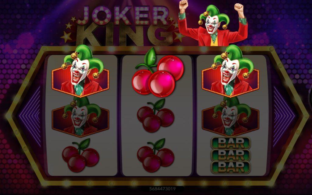 เกมสล็อตยอดฮิต 2021 joker king slot